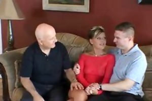 swinger wife screws stranger as hubby watches