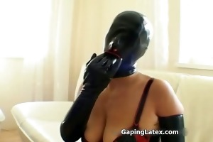 naughty whore rubs her love bubbles part3
