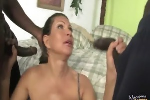 monster darksome dick bangs my mamas white snatch