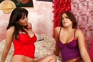 mom and daughter engulfing dick