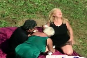 lascivious lesbo granny fuckfest