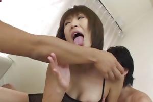 wonderful ass whore jun kusanagi in group sex