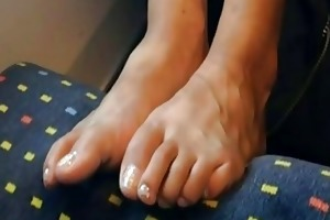 my wifes nice-looking legs and feet