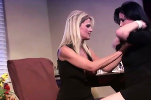 sexually excited milfs go lesbo