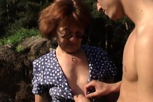 granny with biggest arse acquires chap hard
