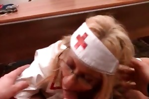 hawt aged nurse receive punished by part6