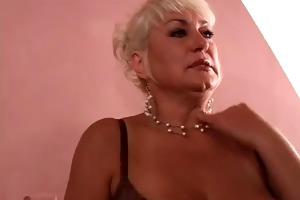 older woman wishes juvenile weenie