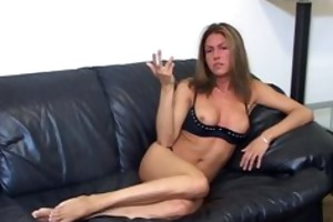smokin d like to fuck flashes tits as she is