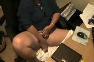hidden web camera catches mum masturbating at