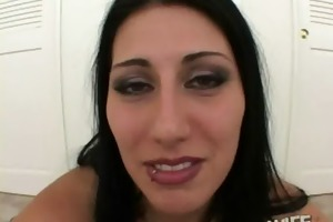 this cheating wife acquires herself screwed by