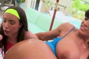 a pro mother i and a starlet in a group anal sex