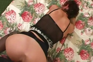 non-professional older wife homemade engulf and