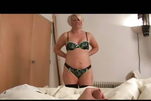 older bimbo ruling over a wang pov