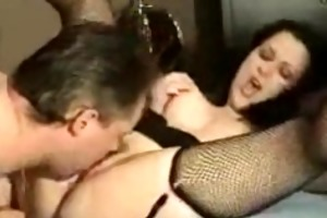 mina and hubby have threesome hawt sex
