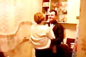 3 drunk russian mamas drilled at party