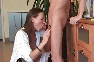 fucking the wife down the mouth