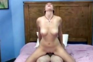 golden-haired chastity and redhead mariah getting