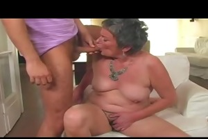 granny acquires laid by a lad