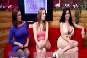 milf talk - next brazzers live show feb 20th 3:45