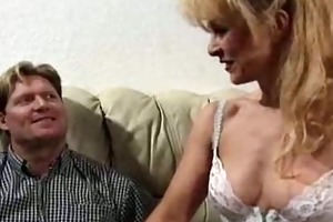 euro mother i acquires cummed on her cum-hole