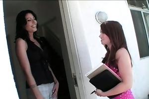 lustful cougar talking a legal age teenager gal