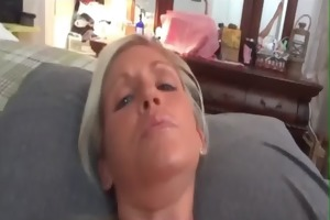 aged slut t live without a load in her booty