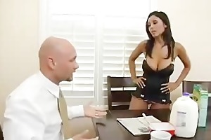 boy catches his wife banging one more man