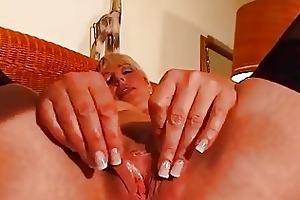 older blonde enjoys her own body dbm movie