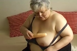 big beautiful woman grandma masturbation