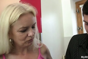 wife finds out that is her mamma enticed