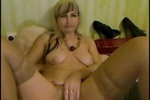 blond aged with large muff lips - negrofloripa
