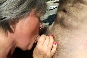 a older big beautiful woman screwed in a