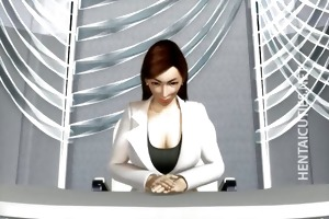 3d manga milf acquires large titties tortured