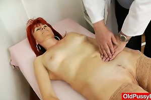 stirring mom pussy exploration in addition to