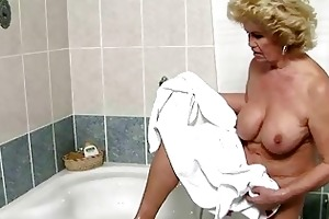 busty granny getting drilled marvelous hard