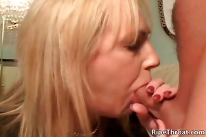 naughty large boobed golden-haired mother i bitch