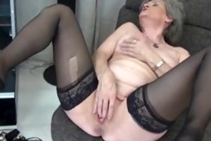 hawt granny in dark nylons t live without part5