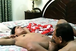 older indian licked and drilled