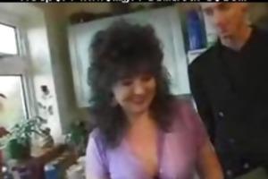 non-professional british mamma screwed anal