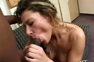 wife cheater getting drilled hard by darksome