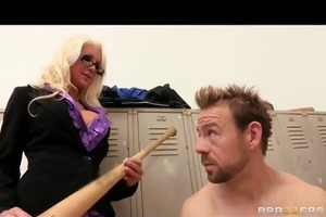 hot sexually excited golden-haired d like to fuck