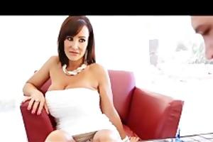 puremature breasty mom lisa ann copulates her