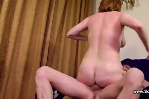 milf fuck anal in her anal opening by old men
