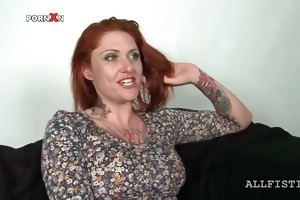 aged hoe in nylons receives assets oil massaged