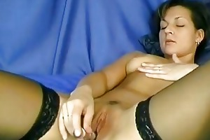 sexy german mommy craves his cum