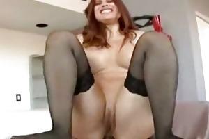 hawt aged redhead just likes anal