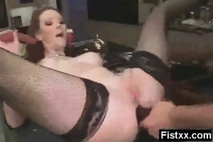 charming fisting wife porno hardcore