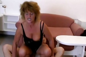 lewd grandma t live without riding large youthful