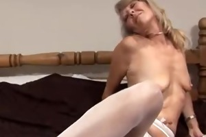 just a hot older woman