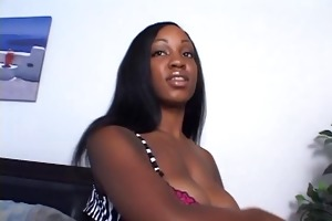 d-cup darksome sweetheart gives black man with